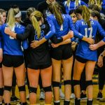 Volleyball falls to Shawnee Mission Northwest in State Pool Play, 22-25, 25-22, 18-25