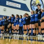 Varsity Volleyball falls to Blue Valley 21-25, 18-25 in the State Semifinals