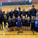 Volleyball defeats Blue Valley North 25-14, 17-25, 25-11, takes third at State