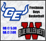 Blazer Gameday Info: GEHS vs BVW Freshman Boys Basketball
