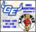 GEHS vs Lawrence – Girls Basketball Information (12/11)