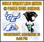 Girls Wrestling Information: 12/16