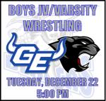 Boys Wrestling Information: December 22