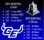 GEHS vs SME Basketball Information – January 12, 2021