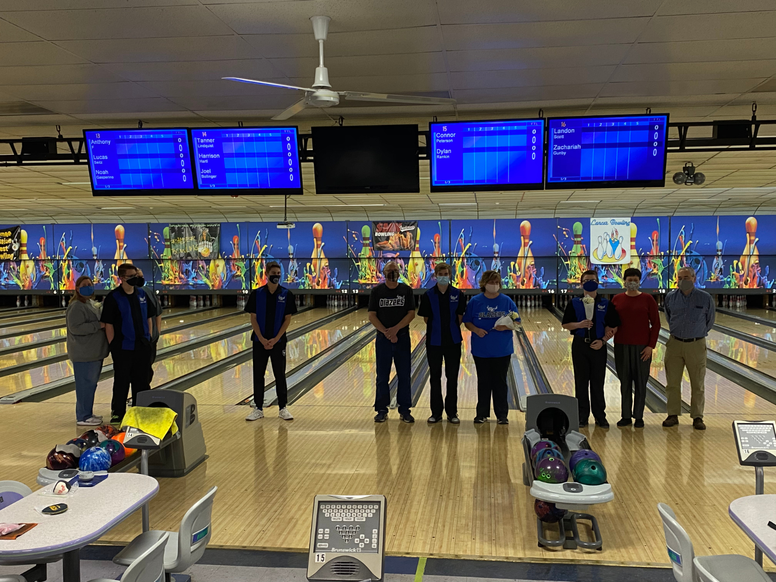 Senior Night-Bowling