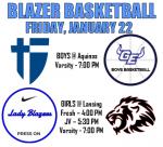 Blazer Basketball Gameday Information – January 22, 2021