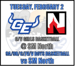 2.2.21 – GE vs SMN Basketball Information
