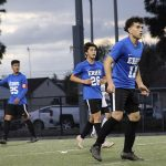 Boys Soccer Clinches Share of League Title
