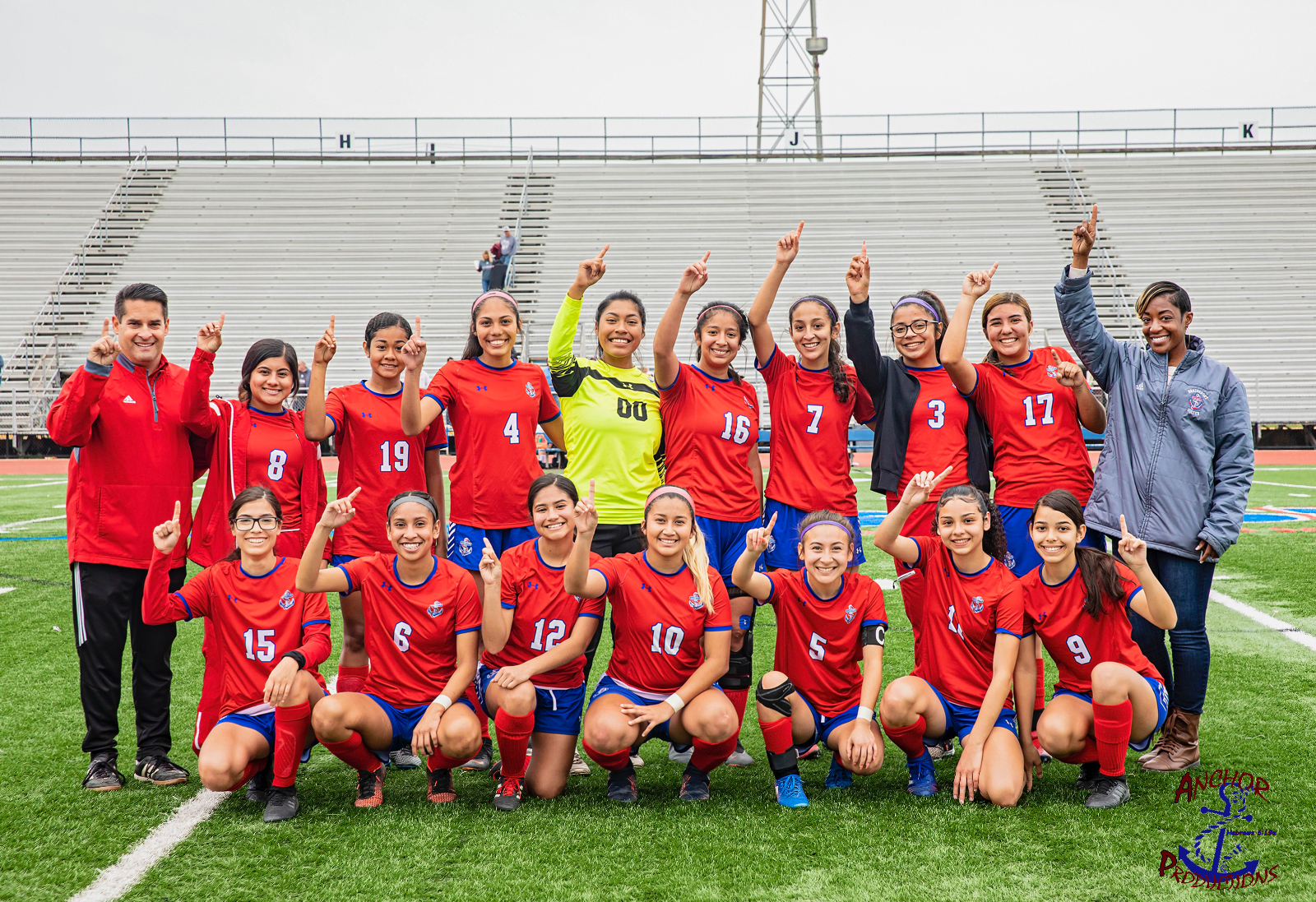 Lady Exporter Soccer Takes 1st