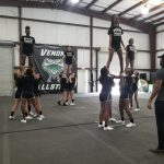 OHS Summer Cheer Practice
