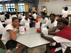 Football Camp Monday Knight Meal