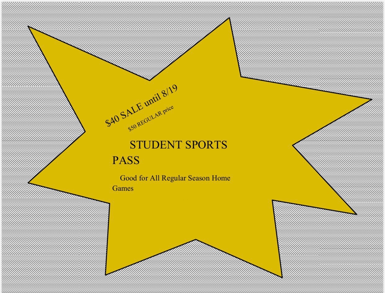 Student Passes on Sale this week!