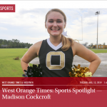 West Orange Times Spotlight