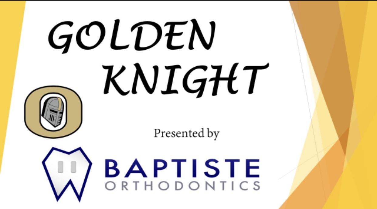 Dr Baptiste Recognize Ocoee High's Athletes as Golden Knights!