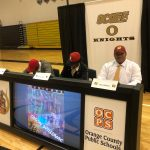 Three Knights sign to play college football!