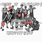Knights Vs Panthers!  White out!!