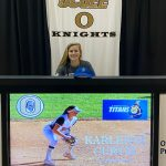 Karleigh Curtis Signs with St Petersburg for softball!