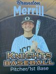 Senior Spotlight- #7 BRANDON MERRILL