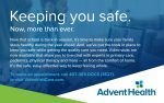 Advent Health Offers Video Visits to Keep You Safe!