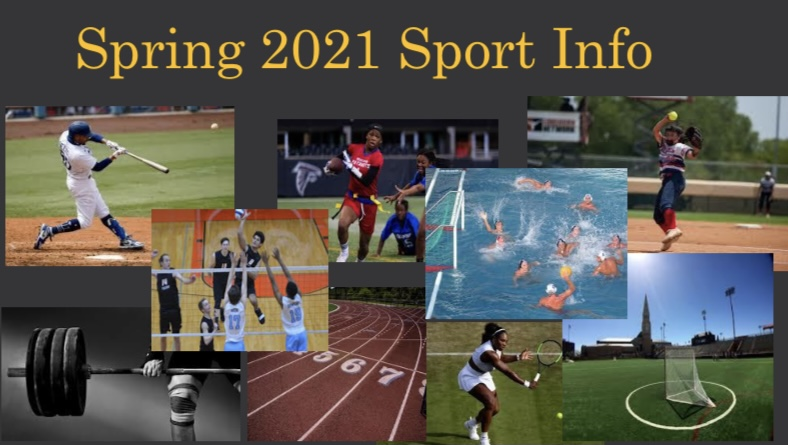 2021 Spring Sports Info!