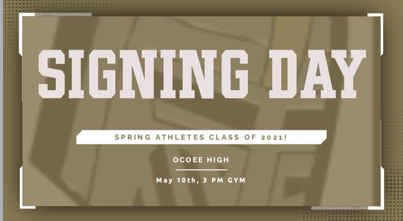 Spring Signing Day 2021!