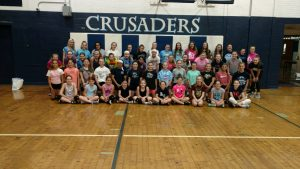 2019 Girls VB Camp