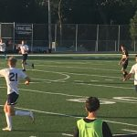 Boys Soccer plays in Final Scrimmage