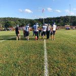 Football game at Avella