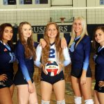 Girls Varsity Volleyball Sweeps by Cornell 3-0 on Senior Night