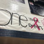 Girls Volleyball pink out