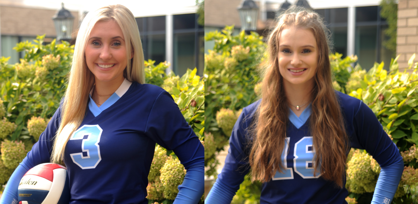 Alexa Malloy and Maddie Maziarz earn Volleyball All State Honors