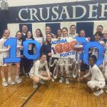 Pollice hits 1,000 Points as BC Girls Varsity Hoops Cruises Past Carmichaels