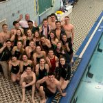 Girls Swimming blasts Brentwood; Wins Fourth Straight Section Championship