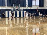 Boys Freshman Basketball falls to Pittsburgh Central Catholic 70 – 48