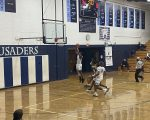 Boys Varsity Basketball beats Geibel Catholic