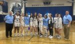 Girls Varsity Basketball beats Cornell on Senior Night