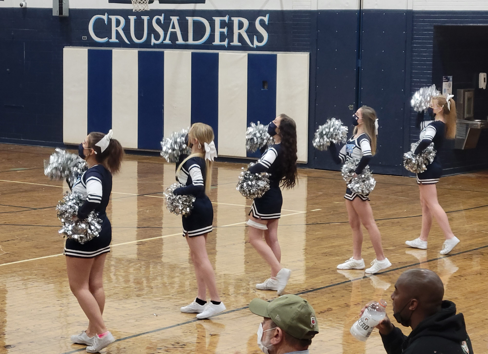 Cheerleading Senior Night 2021