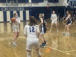 Girls Varsity Basketball falls to Burgettstown