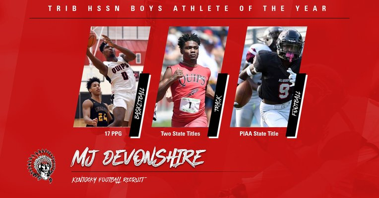 MJ Devonshire named Trib HSSN Boys Athlete of the Year!