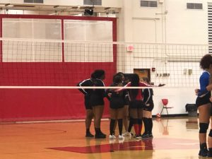 Volleyball vs. Union 10/1