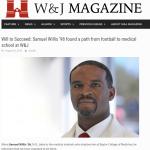Great Article on Aliquippa Alum ('94) Sam Willis