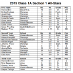 Congratulations Volleyball All-Section All-Stars!