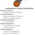 This Week in Aliquippa Basketball