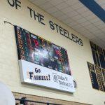 Boys Varsity Basketball beats Sharon 79 – 72