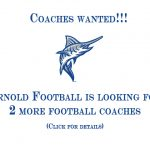 Arnold Marlin Football COACHES WANTED