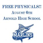 ATTN: ALL Arnold Marlin Athletes!!! FREE PHYSICALS