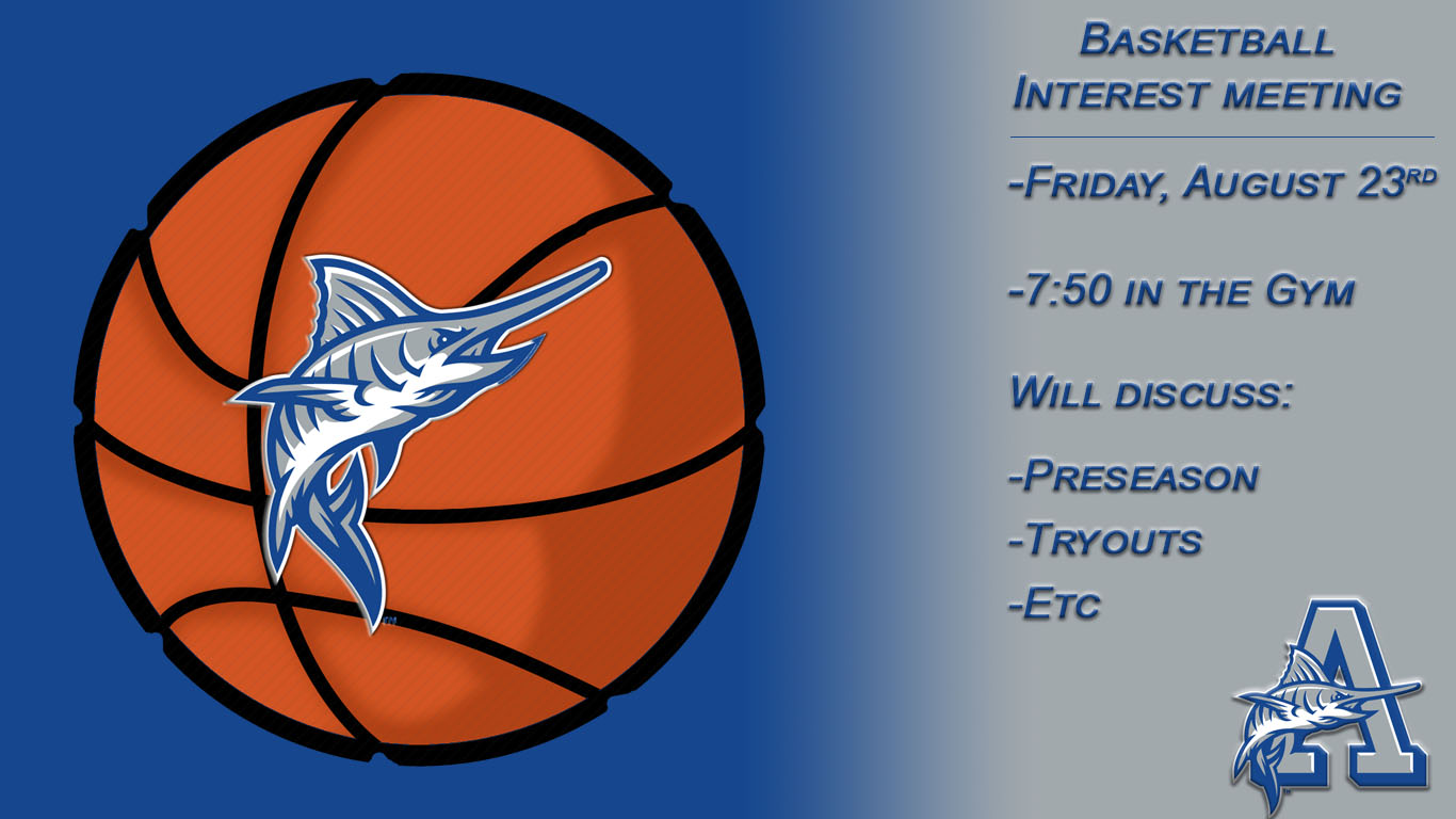 Interested in Marlin Basketball?