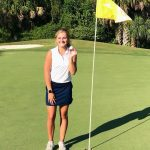 Girls golf finishes First Place
