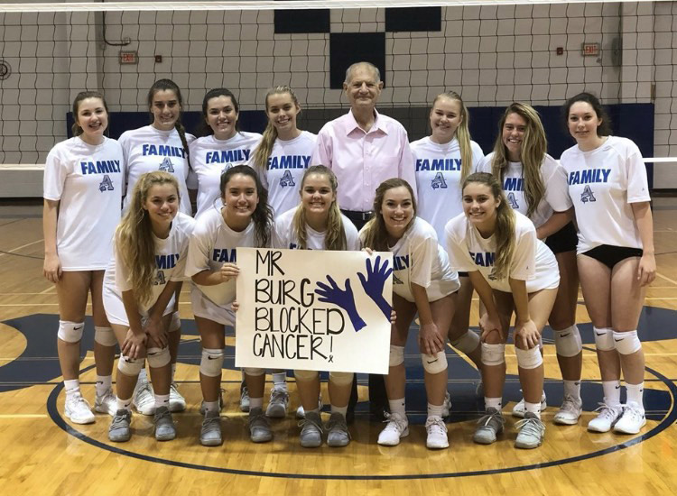 Arnold Volleyball host Cancer Fundraiser