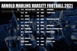 Arnold Marlins 2021 Varsity Football Schedule